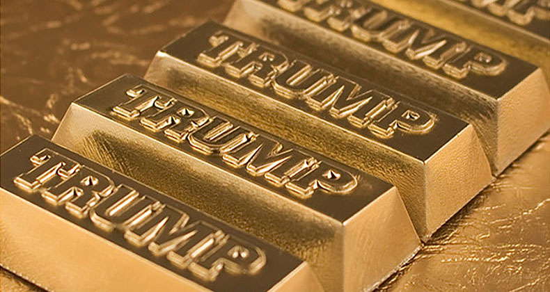 trump gold bars
