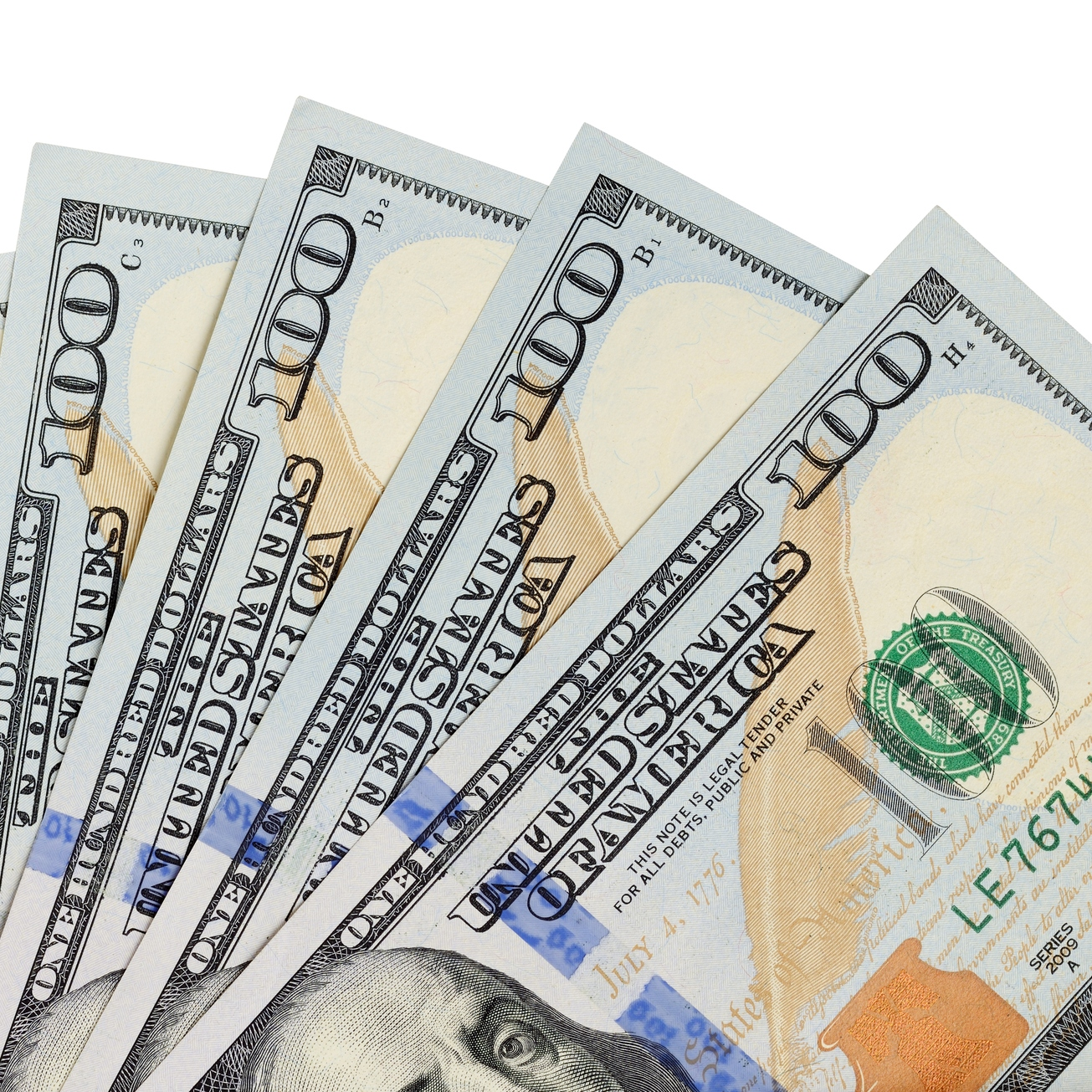 Free Pictures of Money | One Percent Finance