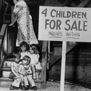 great-depression-children-for-sale