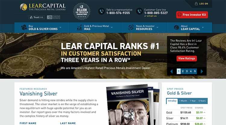 lear-capital-website