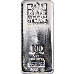 Republic Metals Corporation Silver Bars gold ira company