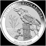 1 kg Australian Silver Kookaburra
