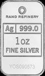 Rand Refinery Silver Bars