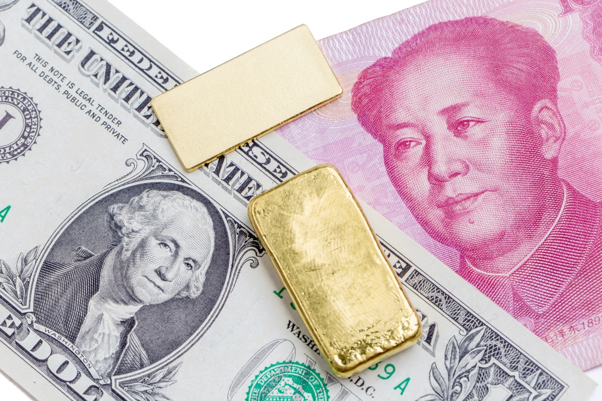 Priced in Yuan and Convertible into Gold